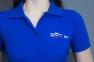 ВФП футболка поло с символикой ВФП синяя 3