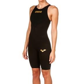001128 Arena гидрокостюм для плавания ж CARBON AIR 2 FBSLOB black-black-gold
