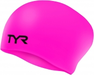 Шапочка для плавания TYR Long Hair Wrinkle-Free Silicone Cap