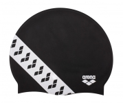 001463 Arena шапка для плавания TEAM STRIPE CAP
