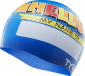 Шапочка для плавания TYR Hello My Name Is Swim Cap
